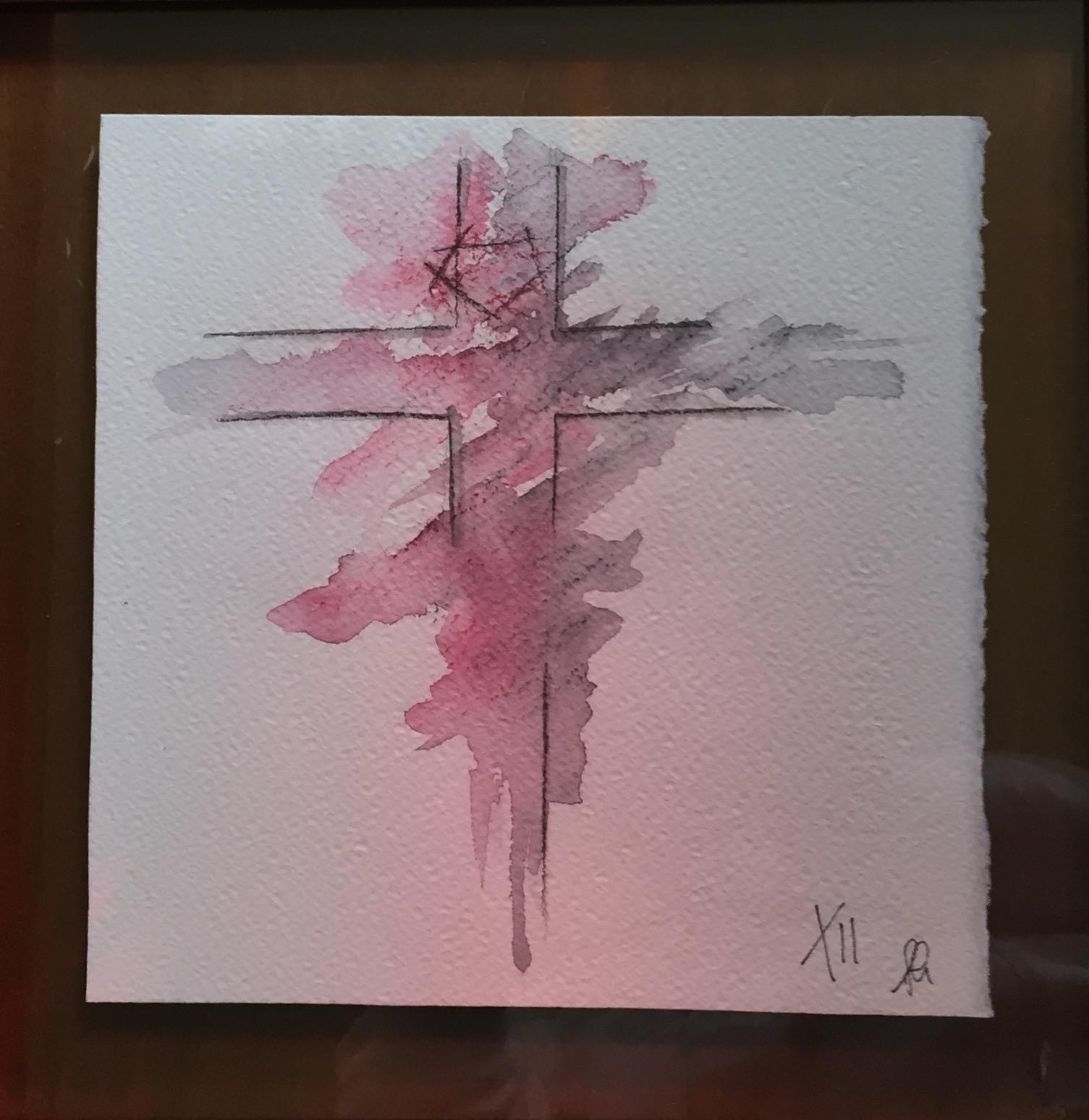 Particolare: La Morte in Croce