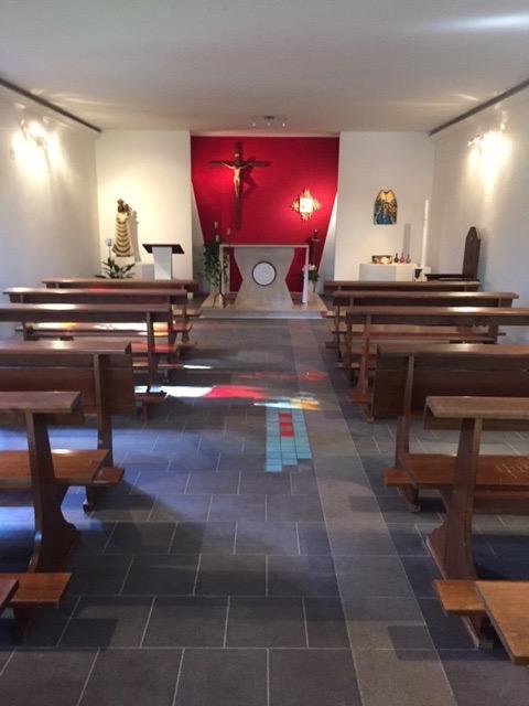 Pavimento della Chiesa, visione d'insieme
