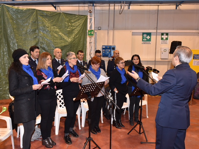 Il Coro per la festa della Madonna di Loreto 2017