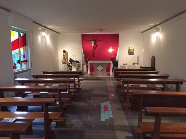 la chiesa a lavori termianti