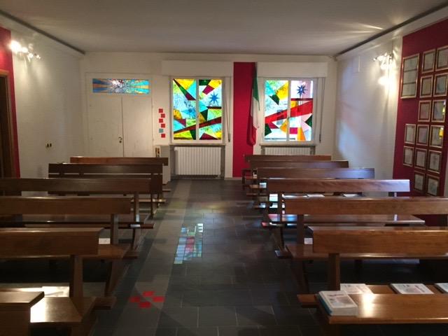 particolare interno pavimento navata centrale