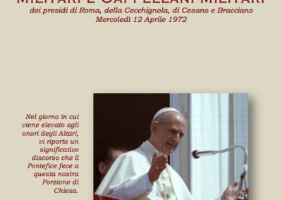 Paolo VI ai Militari ...