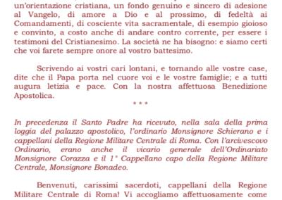 Paolo VI ai Militari - 2