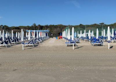 Spiaggia 14 e 15 di tagliata Aeronautica Militare